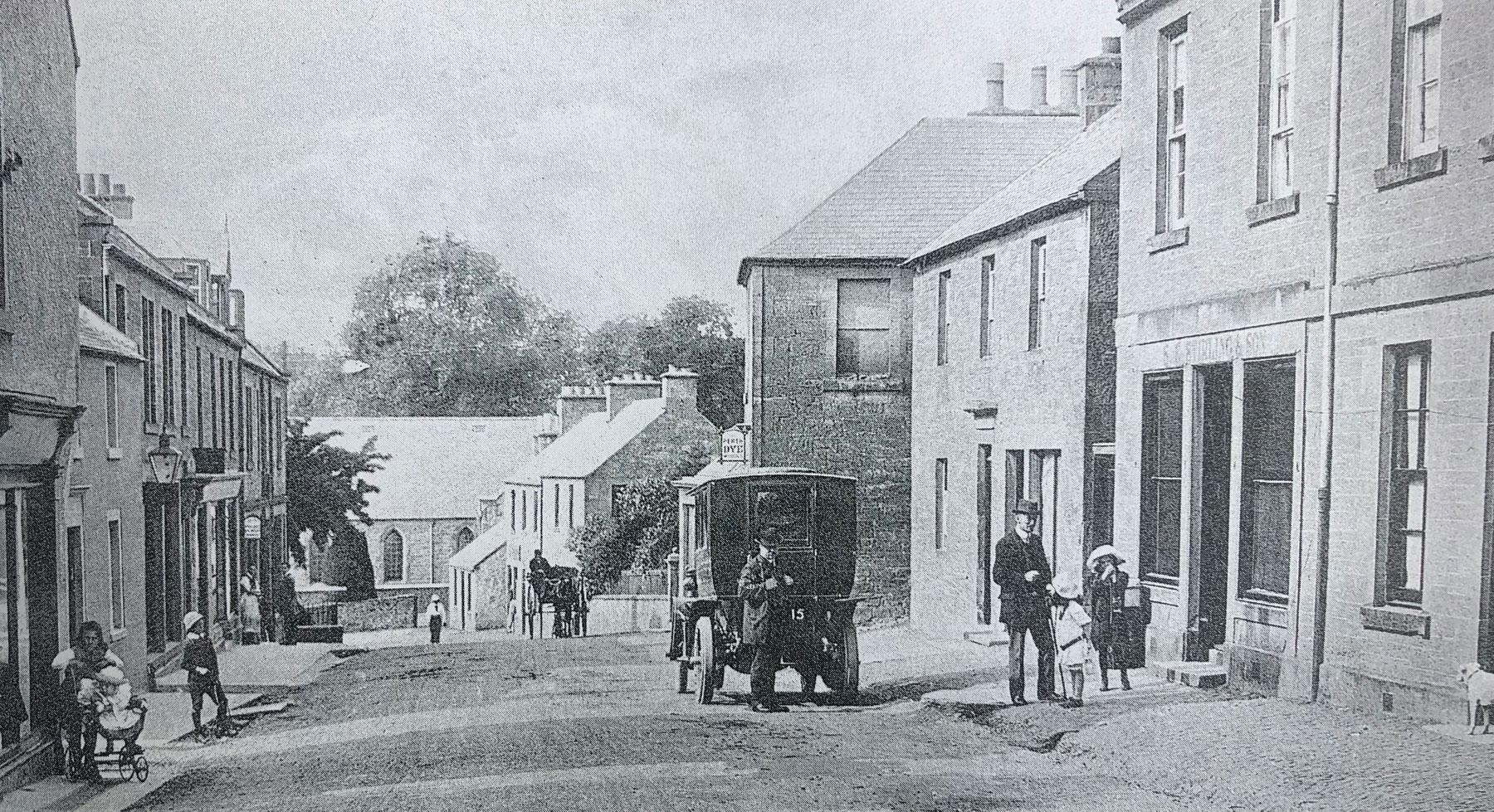 Old St Boswells Main Street