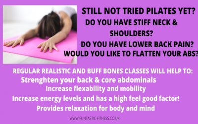 Pilates comes back to the hall! From Amanda Richard