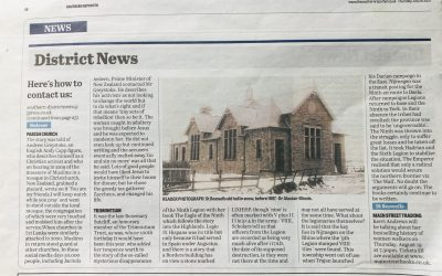 Another mention in The Southern Reporter!